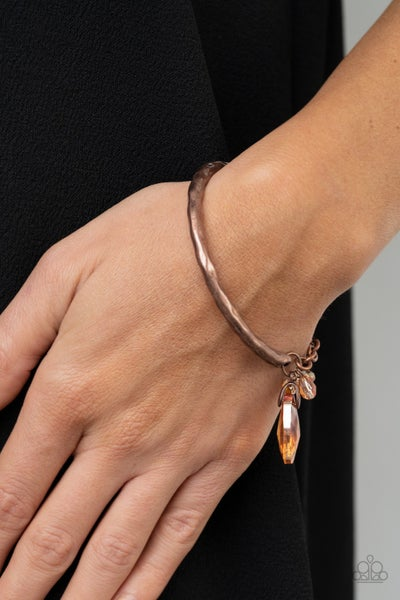Let Yourself GLOW - Copper Clasp Bracelet