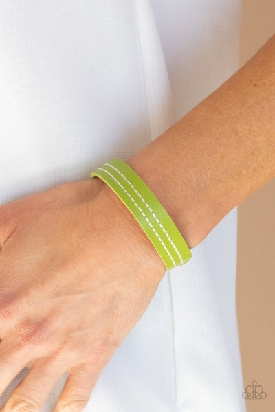 Life is WANDER-ful - Green Snap Wrap