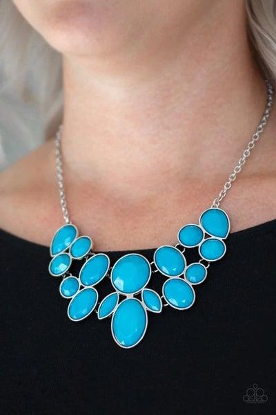 Demi-Diva – Blue Necklace