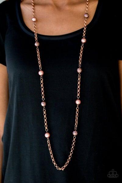 Showroom Shimmer - Copper Necklace