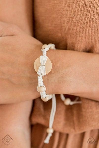 The Road KNOT Taken - White Urban Bracelet