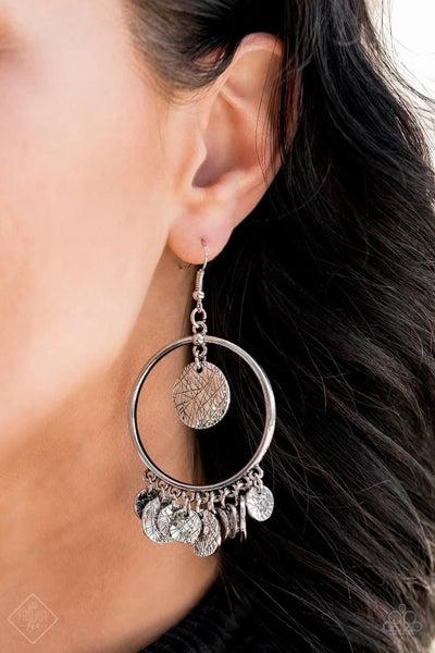 Start from Scratch - Silver Earrings