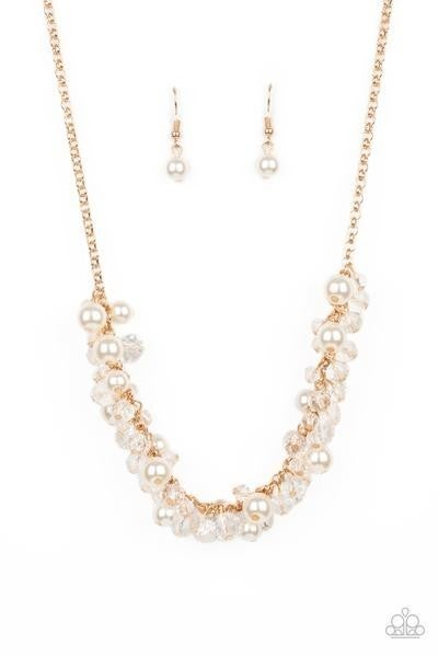 Pardon My FRINGE - Gold Necklace