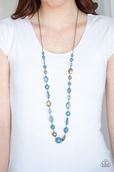Secret Treasure - Blue Necklace