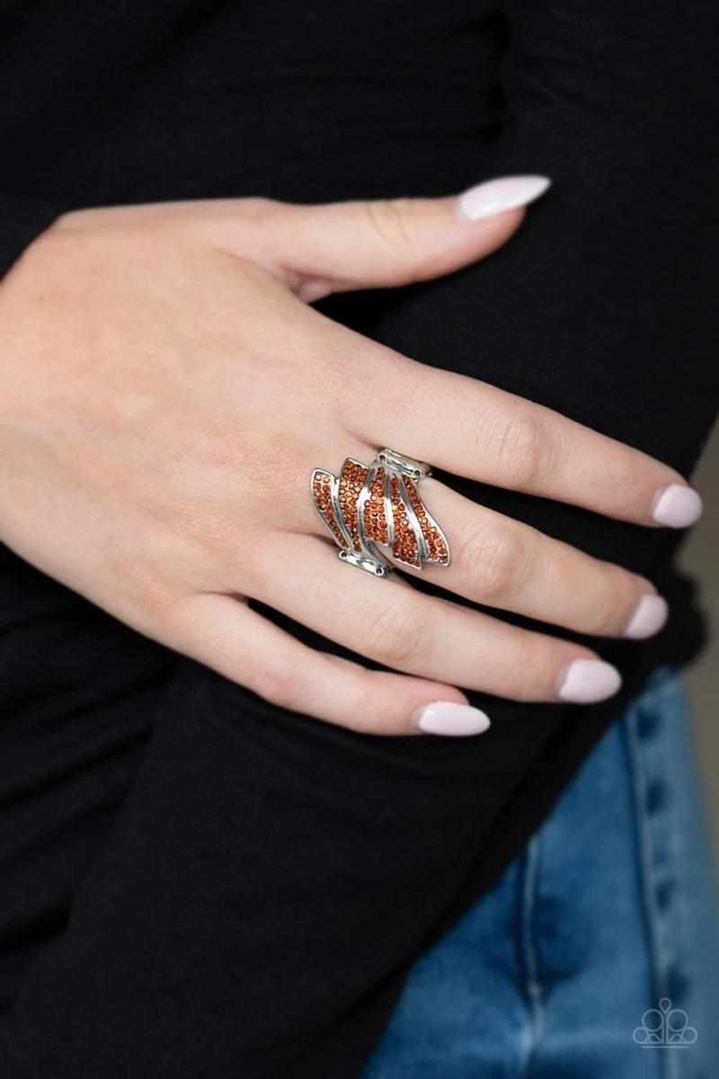 Majestically Monte Carlo - Orange Ring