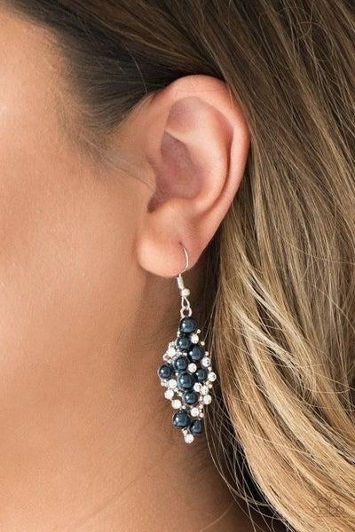 Famous Fashion - Blue Earrings