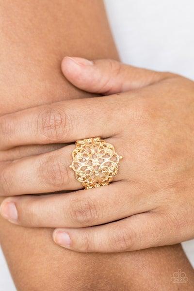 Victorian Valor - Gold Ring