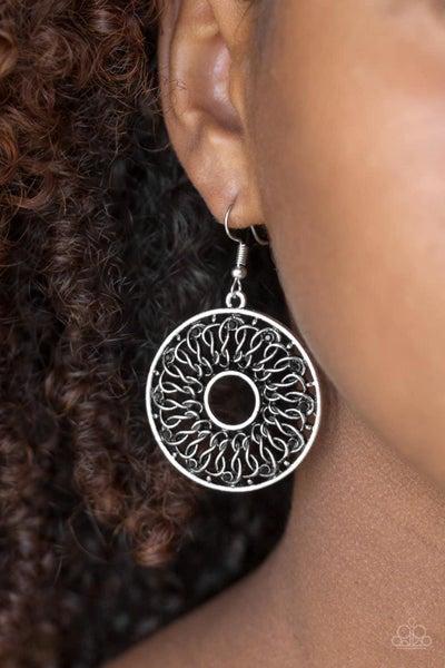 Malibu Musical - Black Earrings