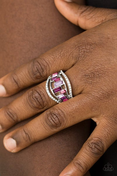 Treasure Chest Charm - Purple Ring