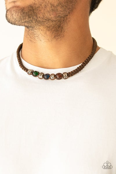 The Great ALP - Brown Urban Necklace