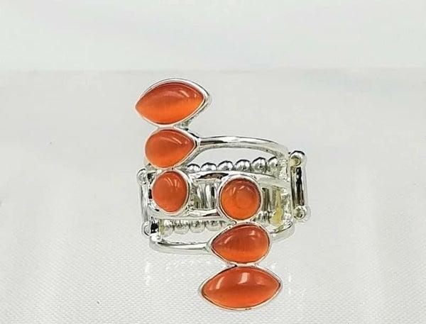 Wraparound Radiance - Orange Ring