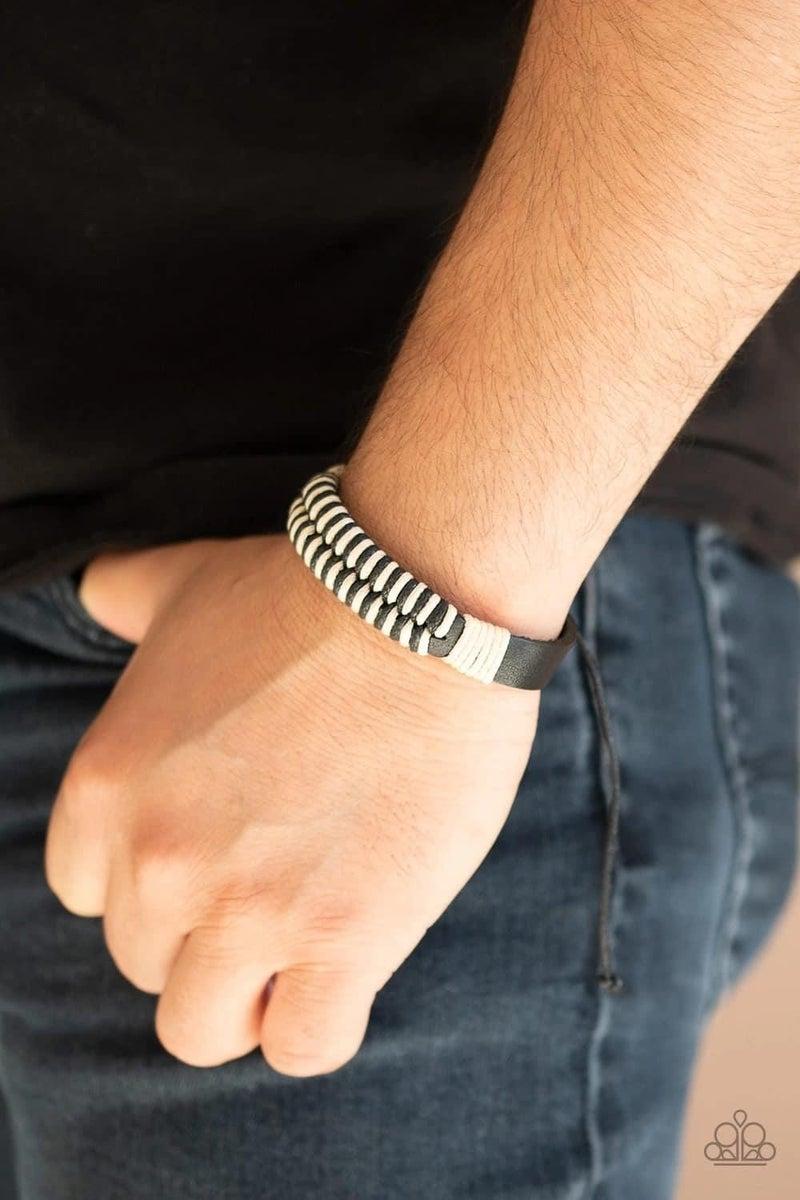 Trail Time - Black Urban Bracelet