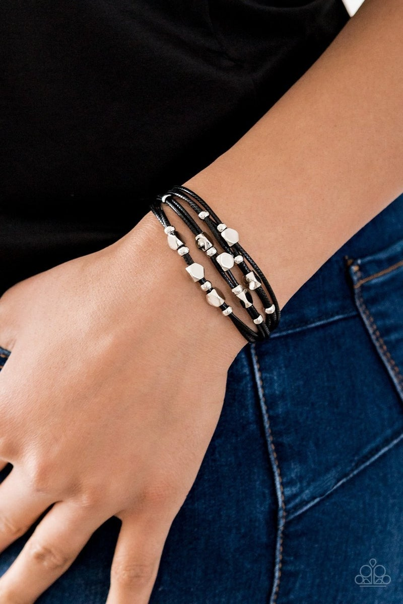 Cut The Cord - Black Urban Bracelet
