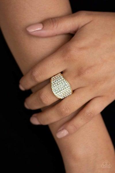 Kaboom - Gold Ring
