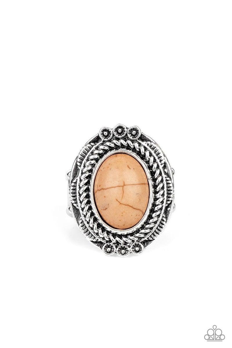 Tumblin Tumbleweeds - Brown Ring