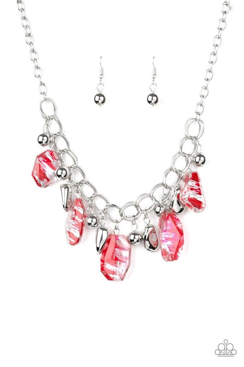 Chroma Drama - Red Necklace