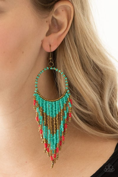 Live Off The Badlands - Multi Earrings