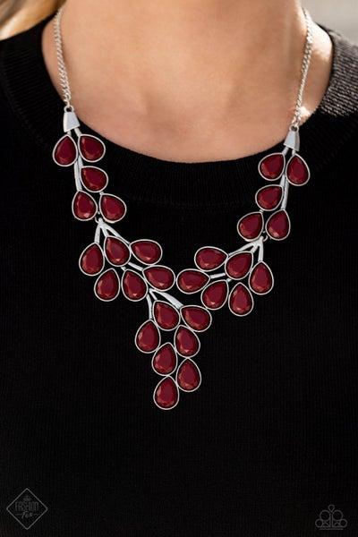 Eden Deity - Red Necklace