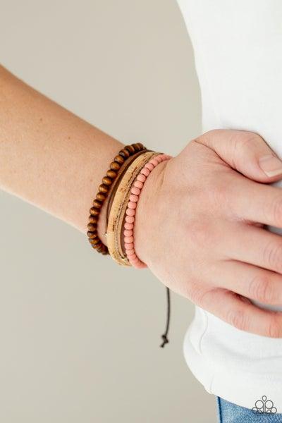 STACK To Basics - Pink Urban Bracelet