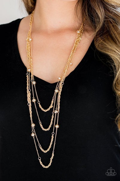 Open for Opulence - Gold Necklace