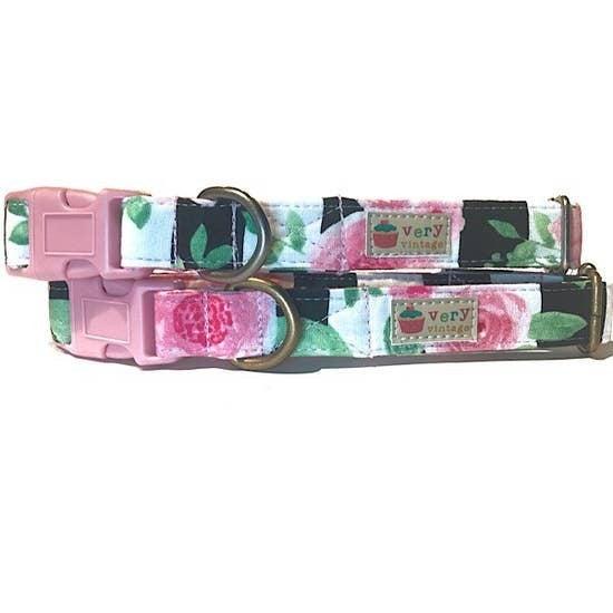 Rosie Organic Cotton Pet  Collar