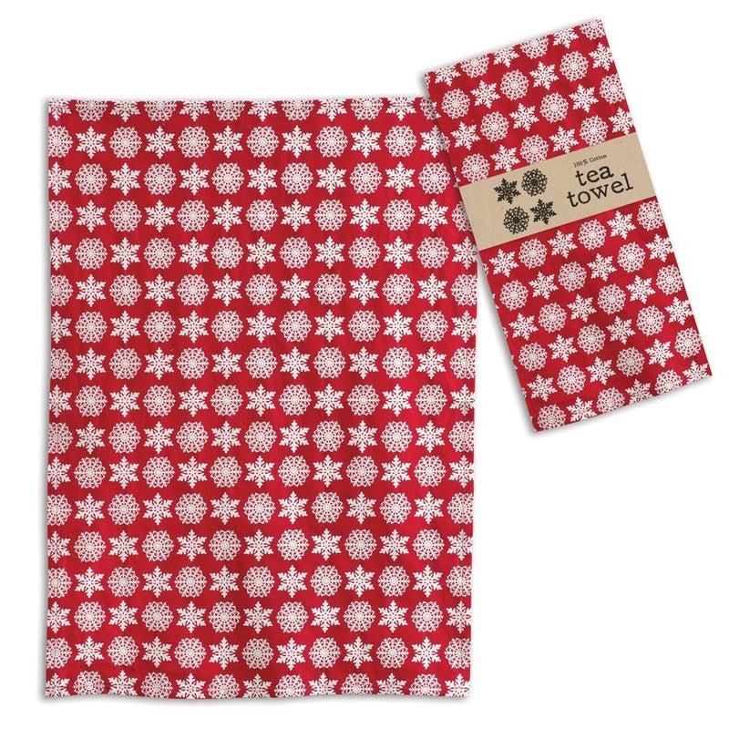 Snowflake Tea Towel