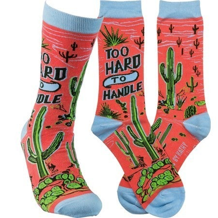 Too Hard to Handle Socks
