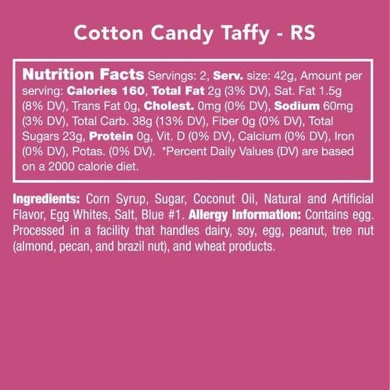 Cotton Candy Taffy