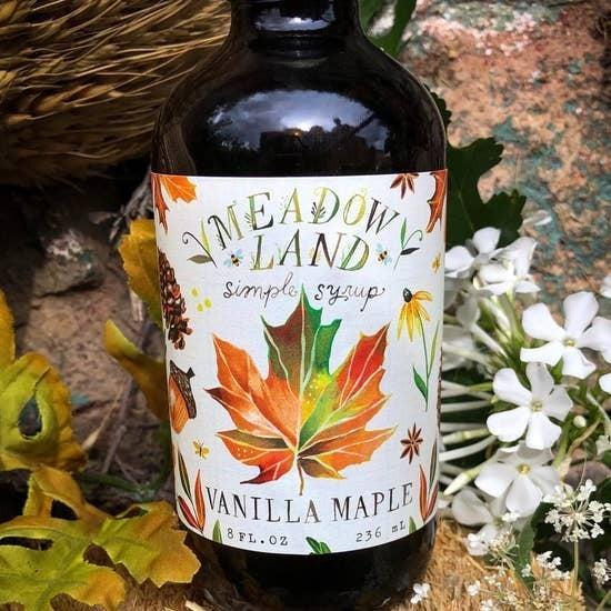 Vanilla Maple Simple Syrup
