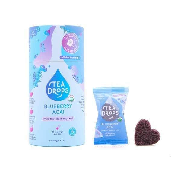 Blueberry Acai Tea Drops