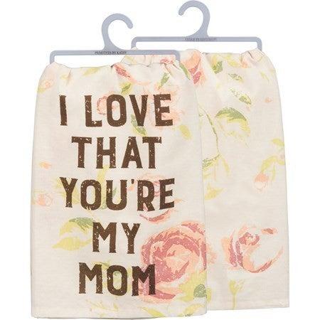 Love Mom Towel