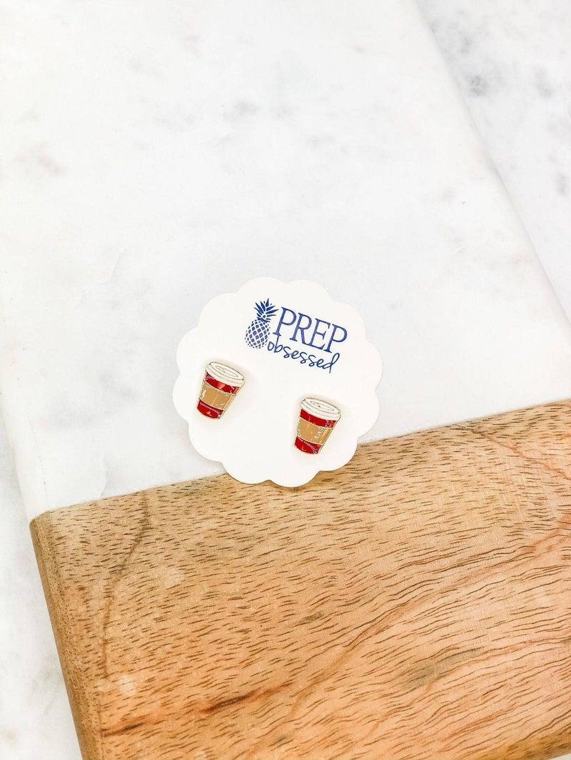 Coffee Cup Stud