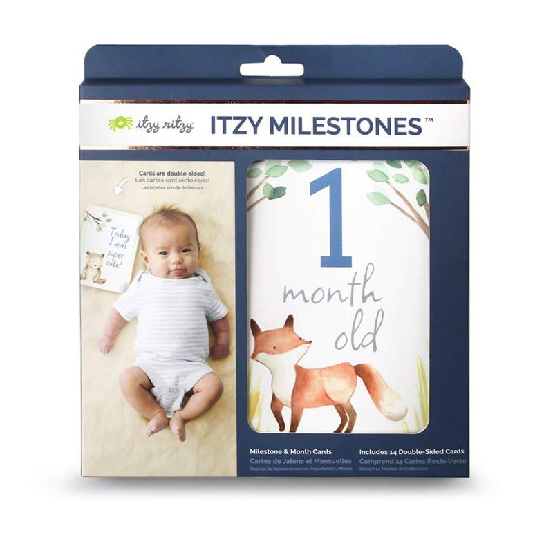 Woodland Itzy Moments™ Double-Sided Milestone Cards