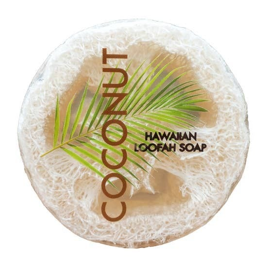 Coconut Sea Salt & Kukui Loofah