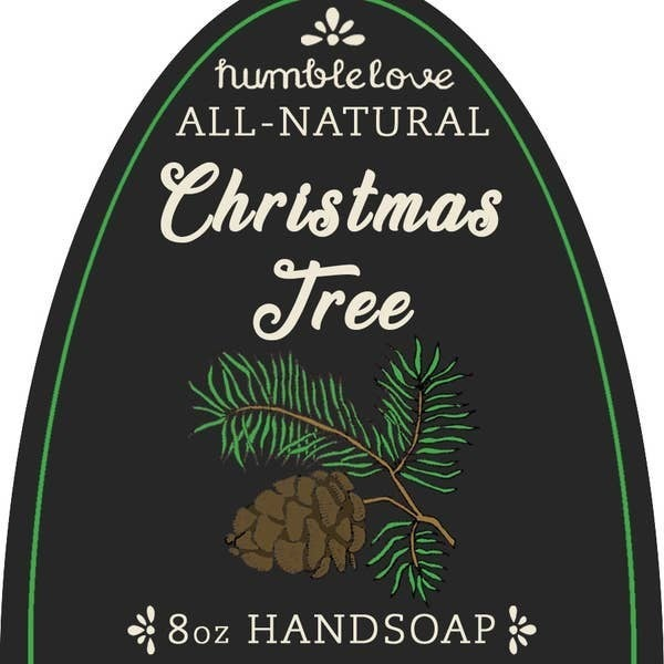 Christmas Tree Foaming Soap
