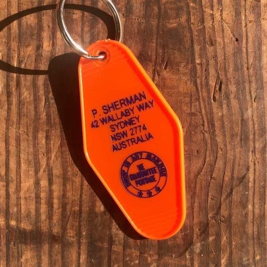 Motel Key Fab Keychains