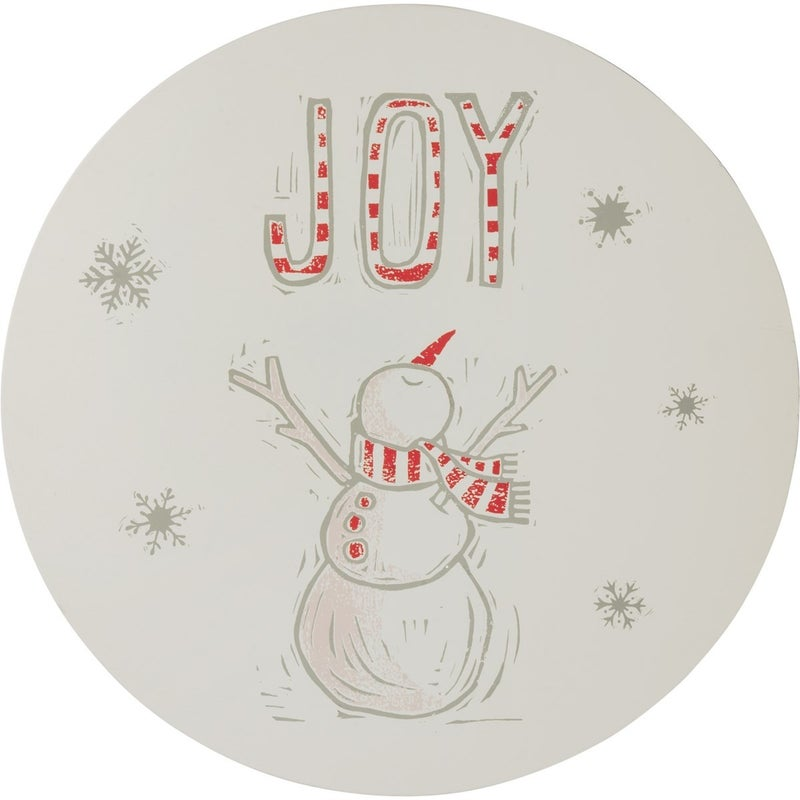 Joy Wreath Insert