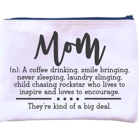 Mom Definition Pouch