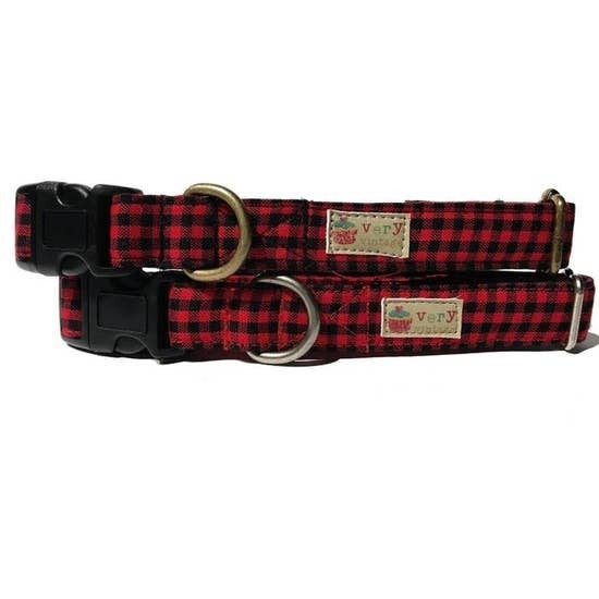 Lumberjack Organic Cotton Pet Collar