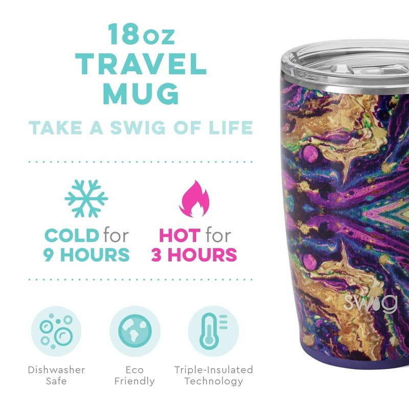 Purple Rain Travel Mug 180z