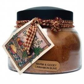 22oz Warm & Gooey Cinnamon Buns Mama Jar