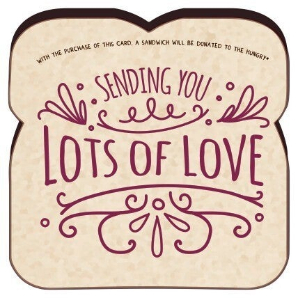 Sending You Lots of Love Card