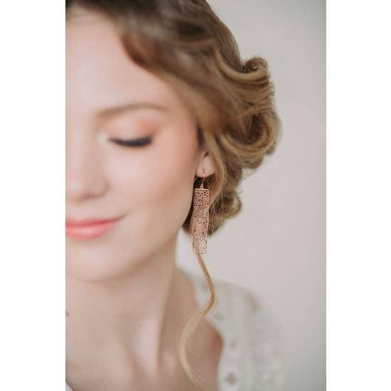 Bar Filigree Earrings