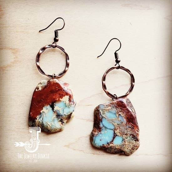 Aqua Terra Chunky Earrings
