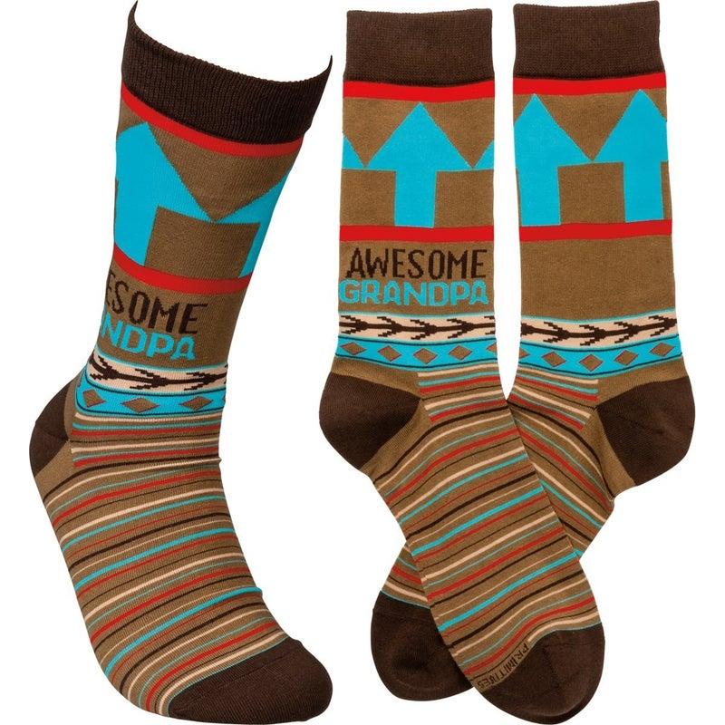 Awesome Grandpa Socks