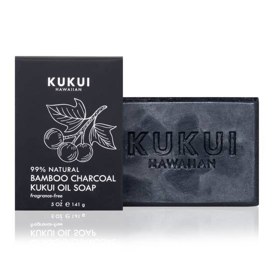 Bamboo Charcoal Kukui Oil Soap