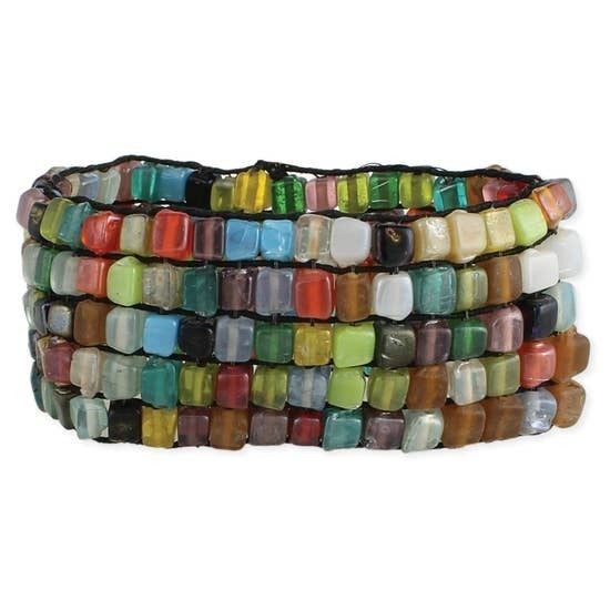 Bead Mosaic Bracelet