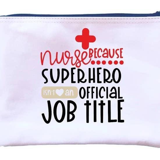 Nurse Superhero Pouch