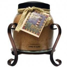 Copper Candle Holder Jar