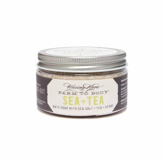 Sea+Tea Bath Salts with Tea
